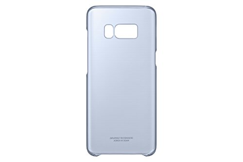 Samsung Dream Clear Cover, Funda para smartphone Samsung Galaxy S8, Azul