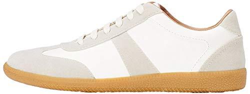 find. Herren Sneaker, Weiß (White Grey), 44 EU