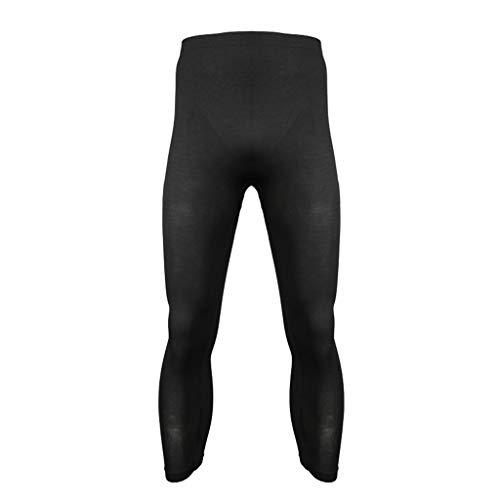 Hahashop2 Mallas para Hombre Running Leggings Deporte Pantalones Largos de Compresión Pantalones Transpirables de Gran Elasticidad Pantalones para Correr de Secado Rápido