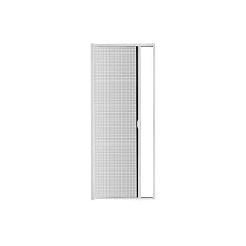 Fliegengitter Insektenschutz Tür Rollo Alurahmen Bausatz Insektenschutzrollo 120 x 220 cm weiß