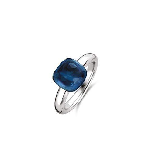 TI SENTO - Milano 925 Sterling Zilveren Ring 12187DB/54 (Maat: 54)