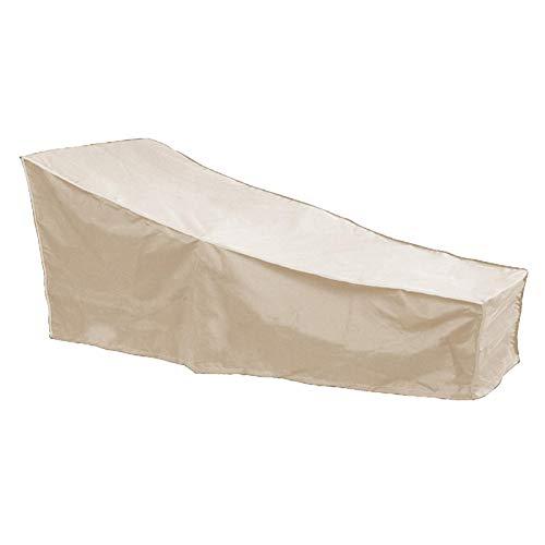Zouminyy Outdoor Stuhlabdeckung, Wetterbeständigkeit Einfach zu installierende Terrassenmöbelabdeckung, Reißfestigkeit für Outdoor-Schreibtisch(Beige)