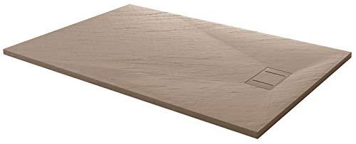Piatto Doccia 80x120 cm Effetto Pietra Stone Tortora