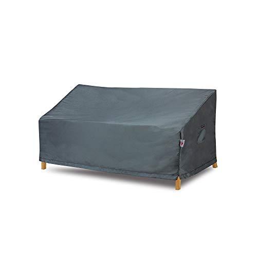 Shield Funda de sofá de 3 Capas de poliéster Resistente al Agua para Exteriores, Color Gris Oscuro
