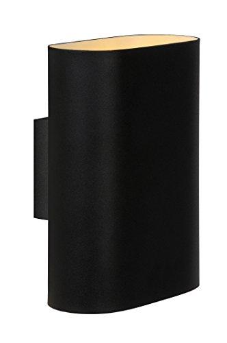 Lucide OVALIS - Applique Murale - Noir