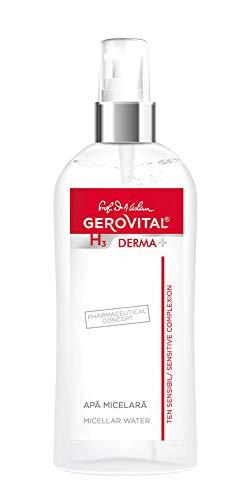 Gerovital H3 Derma+, Agua Micelar, Tipo de Piel: Para todo tipo de piel, 150 ml