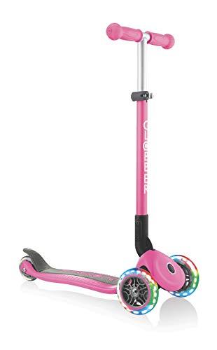Globber Primo Foldable, Leuchtrollen, pink einheitsgröße
