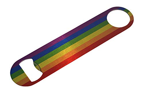 Rainbow LGBT Bottle Opener Makes a Great Gift Gay Lesbian Pride Flag