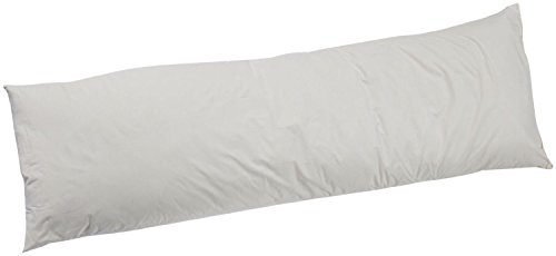 The Green Feather Duck Feather 16' x 26' (40cm x 65cm) Oblong Rectangle White Duck FEATHER Inner Pad Insert - Department Store Quality - Anti Dust Mite - Washable - 100% Cotton Downproof Cover