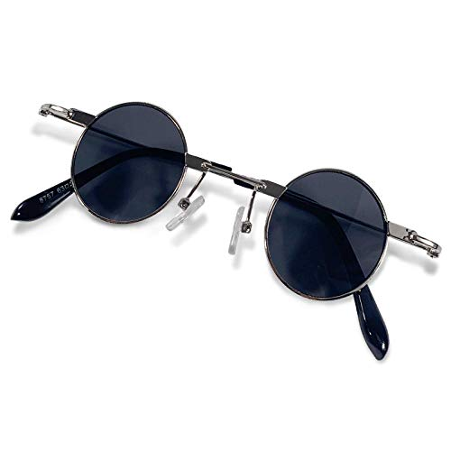 Nostalgic Retro Ultra Small Frame Round Sunglasses Du Qiao Sunglasses Street Shooting Funny Glasses