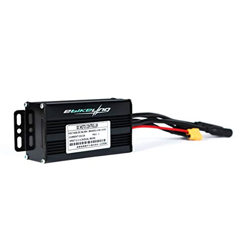 EBIKELING 36V/48V 22Amp 30Amp 35Amp 500W 1200W 1500W Waterproof Brushless DC Motor Speed Controller for Electric Bicycle E-Bike