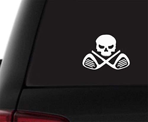 wandaufkleber 3d Wandtattoo Kinderzimmer Golf Club Cross Bone Lizenz Auto Aufkleber Platte Putter Fahrer Golfbälle Wand Home Glas Fenster Tür Aufkleber für Auto Laptop Fenster Aufkleber