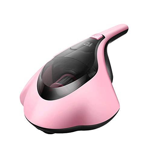 PUPPYOO WP607 Mini UV Aspirapolvere anti acari per cuscini e materassi, Aspirapolvere senza sacco portatile con cavo, Ultraviolet (rosa)
