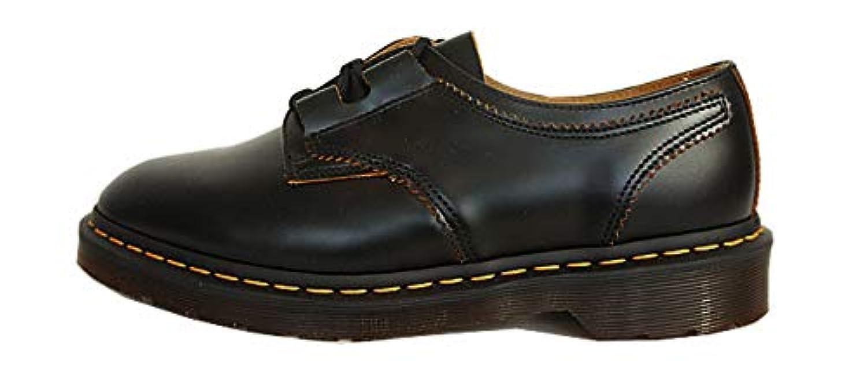 [ドクターマーチン] 1461 ギリーレースシューズ メンズ レザー シューズ 本革 革靴 ARCHIVE 1461 GHILLIE SHOE 22695001 BLACK VINTAGE SMOOTH