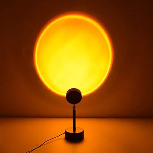 Led Projektor Galaxy Nova Projector Sonnenuntergang Projektion Nachtlichter Live Broadcast Hintergrund Als Galaxy Projektor Atmosphäre Regenbogenlampe Schlafzimmer Dekoration (Sonnenuntergang)