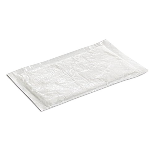 SafePro UZ50, 4x7-Inch White Ultra Dri-Lock 50 Grams Meat Pads, Absorbent Meat Fish and Poultry Foam Tray Pads (500)