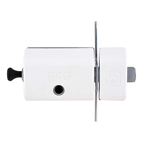 FAC 446-RP 80 - Cerrojo MAGNET UVE, acabado blanco
