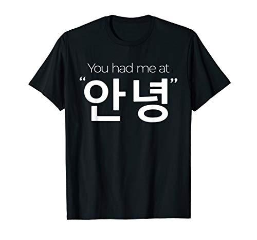 South Korea Inspired Annyeong Hello Hangul T-Shirt