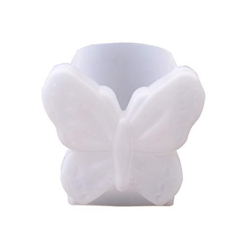 Molde de silicona para manualidades con forma de gota de cristal, hecho a sí mismo, diseño creativo de mariposa, molde de silicona epoxi para adultos y niños