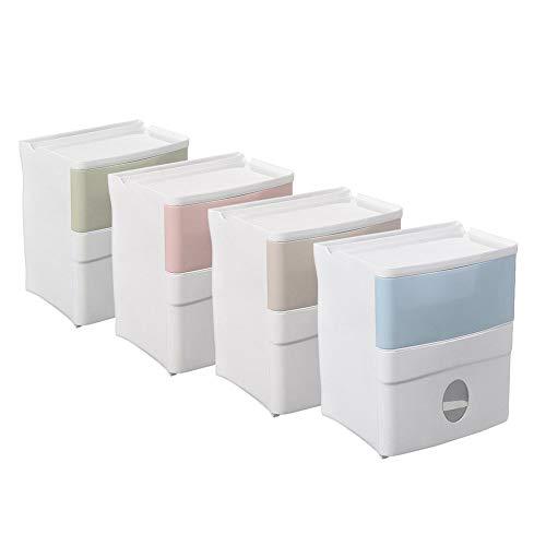 Chendaorong Sostenedor de Papel Pared de la Cocina Montada Organizador del almacenaje de la Caja de baño Papel higiénico Tejido Titular Dispensador de Papel para Cuarto de baño