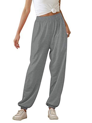 AIDEAONE Hose Damen Jogginghose Tie-Dye Sweatpants Freizeithose Loose Fit Bequem Yogahosen
