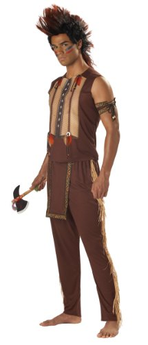 California Costumes Men's Noble Warrior Costume, Brown, Medium