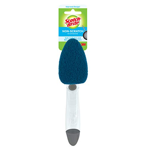 Scotch-Brite Non-Scratch Dishwand, Keeps Hands out of the Mess,Pack of 1