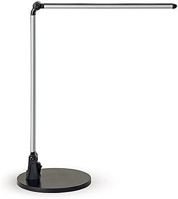 MAUL 82013958W Noir, Argent Lampe de Table Lampes de table (LED, boutons, AC, blanc neutre, noir, argent, Aluminium, Plastique)
