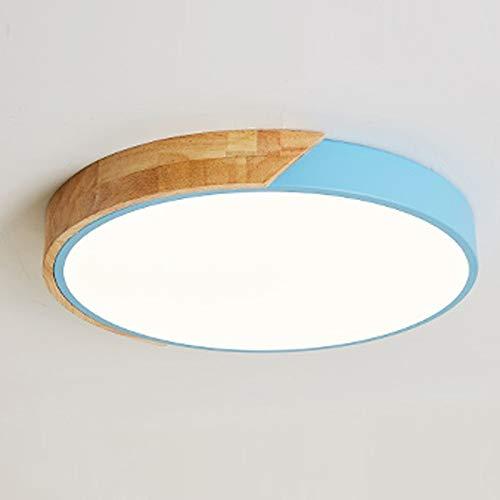 Moderno DIRIGIÓ Luz de techo 6 4W / 13W / 48W / 36W / 27W 2800K (blanco cálido) - 6000k, lámpara de techo Luz de techo interior de madera Ideal para dormitorio cocina sala de estar sala de comedor pas