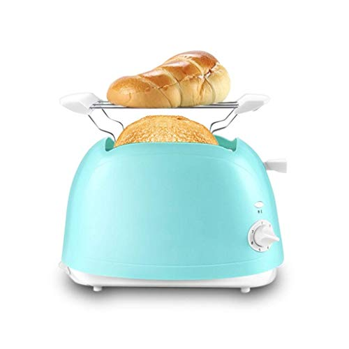 WCJ huishouden mini automatische broodmachine antislip multifunctioneel ontbijt toast automatisch blauw 370 x 225 x 315 mm