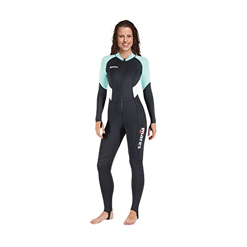 Mares Trilastic Steamer Lady Traje De Buceo, Mujer, Negro, L