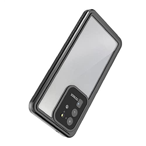 Tuimiyisou La Caja del teléfono Compatible con Samsung S20 Ultra 6.9inch Cubierta con una función de Protector de la Pantalla Completa del Cuerpo de protección Anti-arañazos IP68 a Prueba