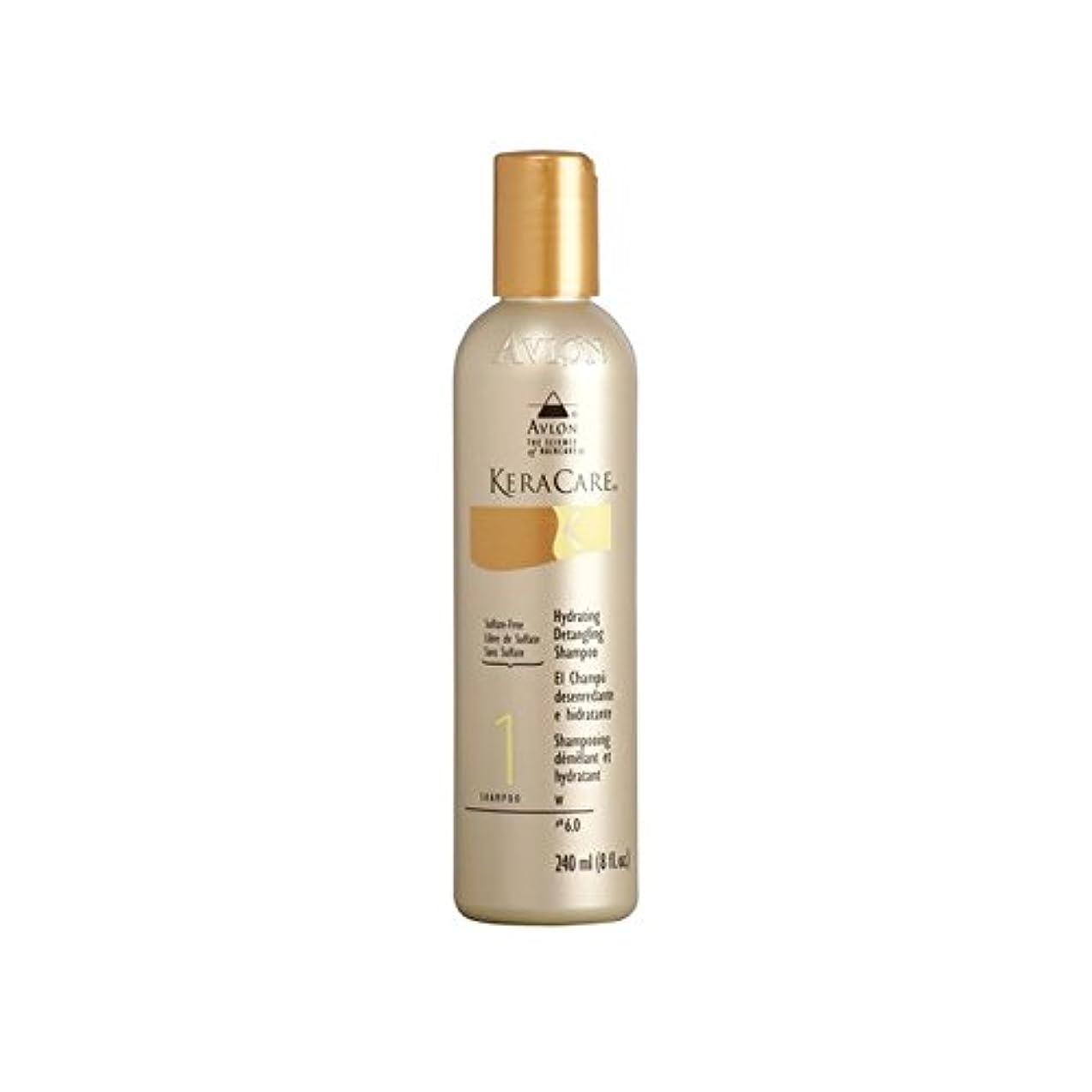 贈り物アダルト採用Keracare Hydrating Detangling Shampoo (240ml) (Pack of 6) - 水和もつれ解除シャンプー(240ミリリットル) x6 [並行輸入品]