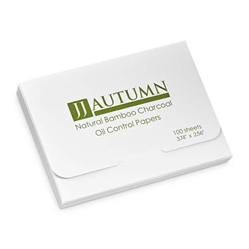 Carta assorbente per il viso, biodegradabile per uomo e donna, confezione da 100 fogli