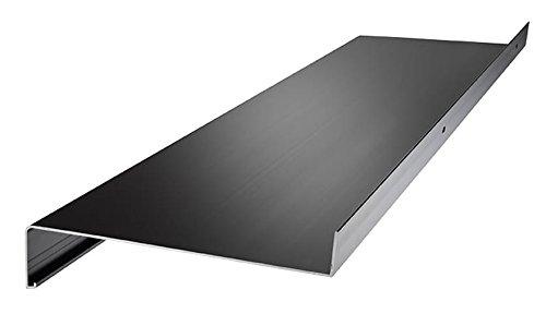 empasa Aluminium Fensterbank Zuschnitt auf Maß Fensterbrett Ausladung 130 mm weiß, silber, dunkelbronze, anthrazit