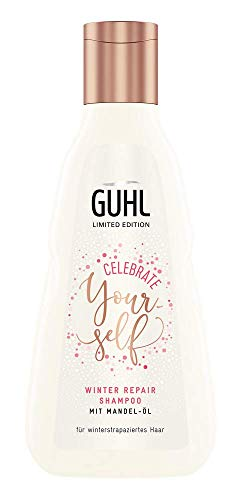 Guhl Winter Repair Shampoo - Celebrate Yourself Edition - Mit Mandel-Öl - Für winter-strapaziertes Haar, 1 stück