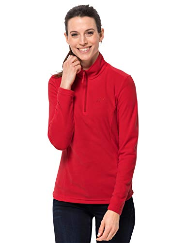 Jack Wolfskin Damen Gecko Women Fleecepullover, red fire, S