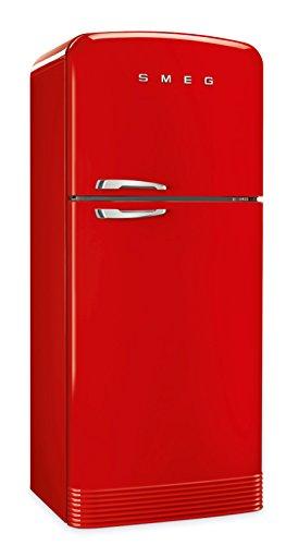 Smeg FAB50RRD Frigorifero combinato anni '50,rosso , 80 cm. tutto no-frost. Classe energetica A++