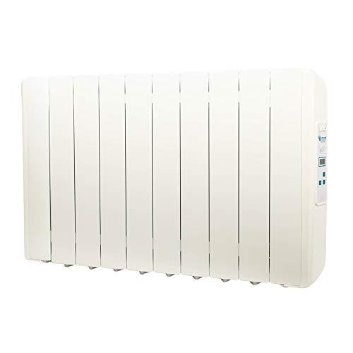 Farho elektrische verwarming met laag verbruik Eco-X Ultra 1650 Watt (10) · elektrische radiator met timer digitaal 24/7 · voor woonruimtes tot 23 m2