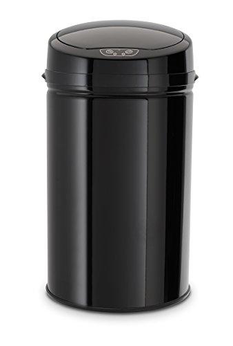 *Echtwerk EW-AE-0280 Edelstahl Abfalleimer 30 L mit IR Sensor, INOX Black*