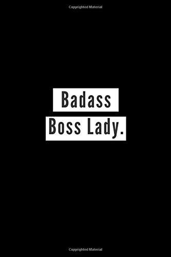 Badass Boss Lady: Lined Page
