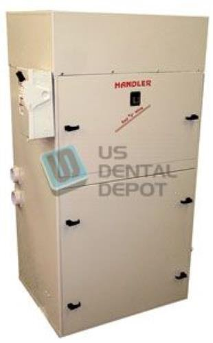 #103DC HANDLER - Dust Collector with Drum Cartridge Filter 3HP [H# 1 103504 Us Dental Depot