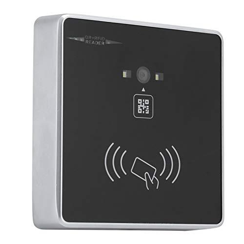 Goshyda Lector de Tarjetas RFID Barcode 2D QR Adopte el estándar 86 Box Indicación automática de inducción y Timbre para la gestión de Negocios/oficinas/Edificios/visitantes(ID Card)