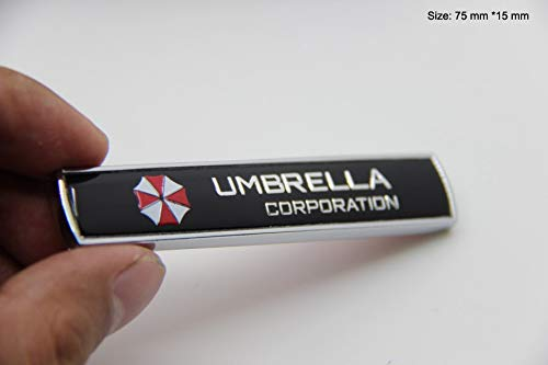 B276 ein stk. Umbrella Emblem Biohazard Badge auto aufkleber 3D Abzeichen car Sticker