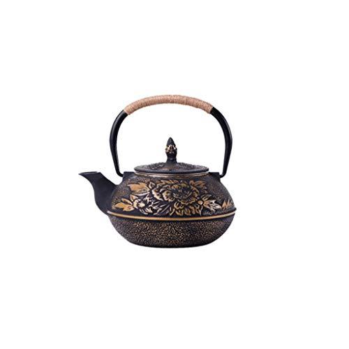 SCDZS Manual de Hierro Caldera de té Especial Caldera eléctrica Estufa de cerámica Tetera Tetera de Hierro Fundido de Hierro Pot