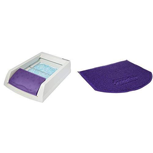 ScoopFree Self Cleaning Litter Box and ScoopFree Anti-Tracking Litter Mat Bundle