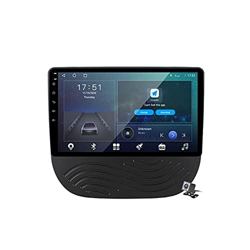 Buladala Android 9.1 GPS Navigation Stereo Radio para Chevrolet Malibu 9 2015-2020, 9' Pantalla Coche Media Player Soporte Carpaly Android Auto/5G FM RDS/Control Volante/Bluetooth Hands-Free,M600