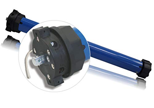 Heicko S de rama GmbH Motor de persiana/persiana con accionamiento/Toldo accionamiento/Toldo (Motor, Mecánico ajustable, integr. Radio (SW60  30Nm   hasta 68kg, protocolo de radio G1) (1St)