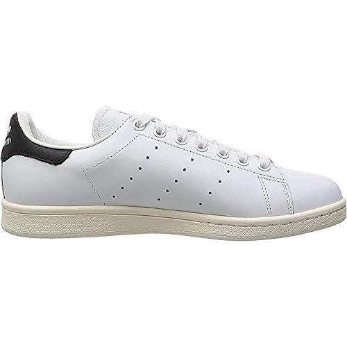 adidas Stan Smith, Sneaker Uomo, Bianco (Footwear White/Footwear White/Core Black), 46 EU