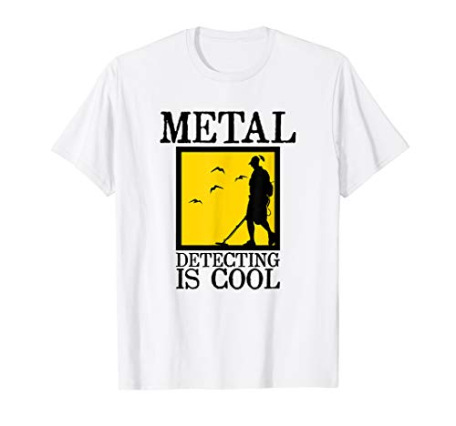 Metal Detector T-Shirt | Metal Detecting is Cool Shops T-Shirts